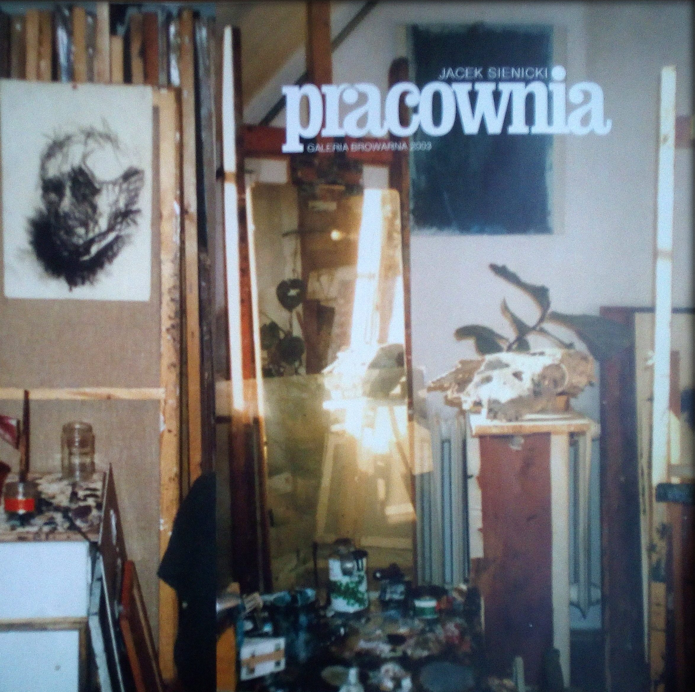 Jacek Sienicki – Pracownia. Galeria Browarna 2003