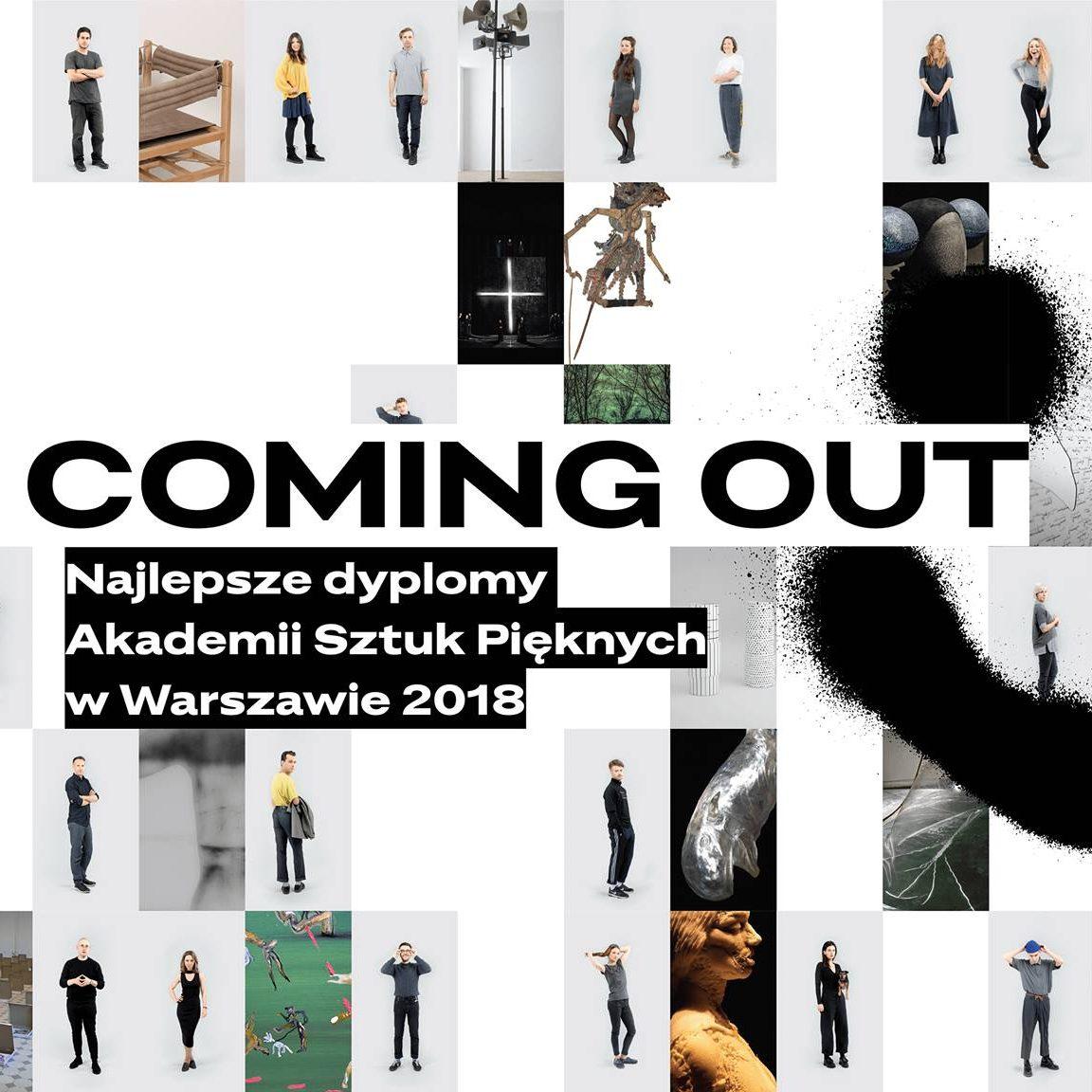Coming Out. Najlepsze dyplomy ASP w Warszawie 2018